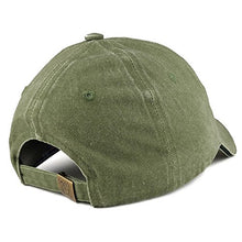 Load image into Gallery viewer, Armycrew Vietnam Veteran Ribbon Embroidered Structured Cotton Baseball Cap - Olive