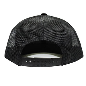 Speedy Pros Barbell Weightlifting Embroidery Design Richardson Structured FrontMesh Cap Heather GrayBlack