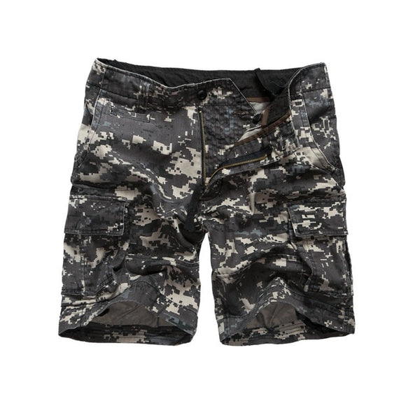 Mens Army Military Camouflage Cargo Shorts - morexial