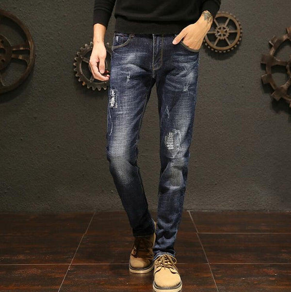 Long Length Stylish Jeans For Men - morexial