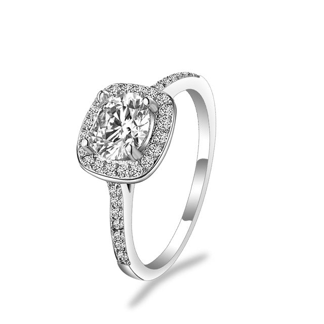 KISS WIFE Classic Engagement Ring 6 Claws Design - morexial
