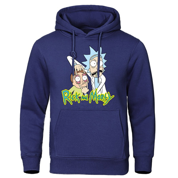 Autumn Rick And Morty Sweatshirts Men - morexial