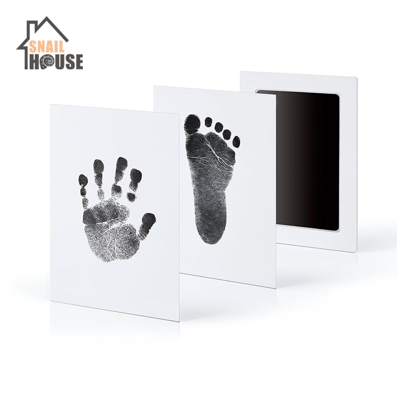 Snailhouse Newborn Baby Handprint Footprint Ink Non-Toxic Touch Ink Pad DIY Photo Frame Souvenir Girl Boy Infant Decoration Toy - morexial
