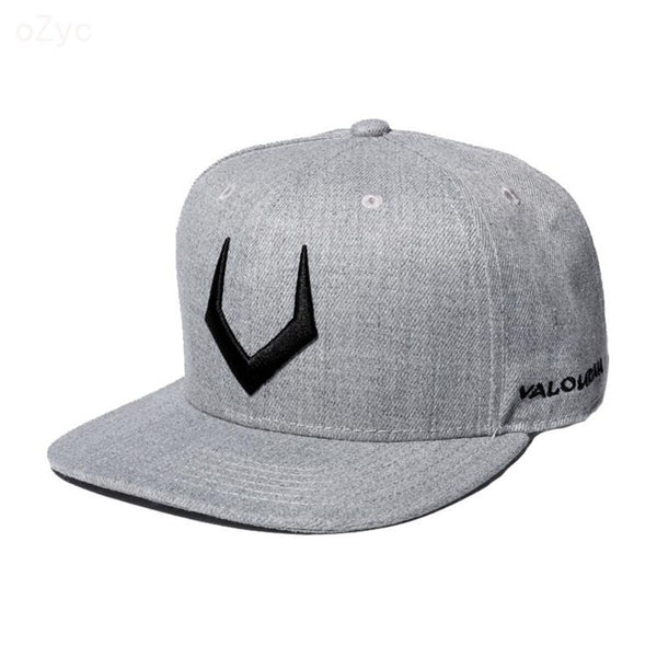 High quality grey wool snapback - morexial