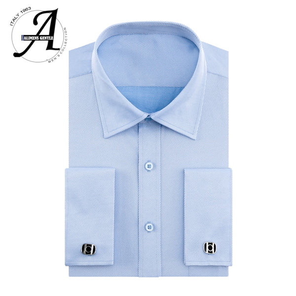 Alimens 13XL 8XL 7XL Big Size Slim Fit Male Casual Shirts - morexial