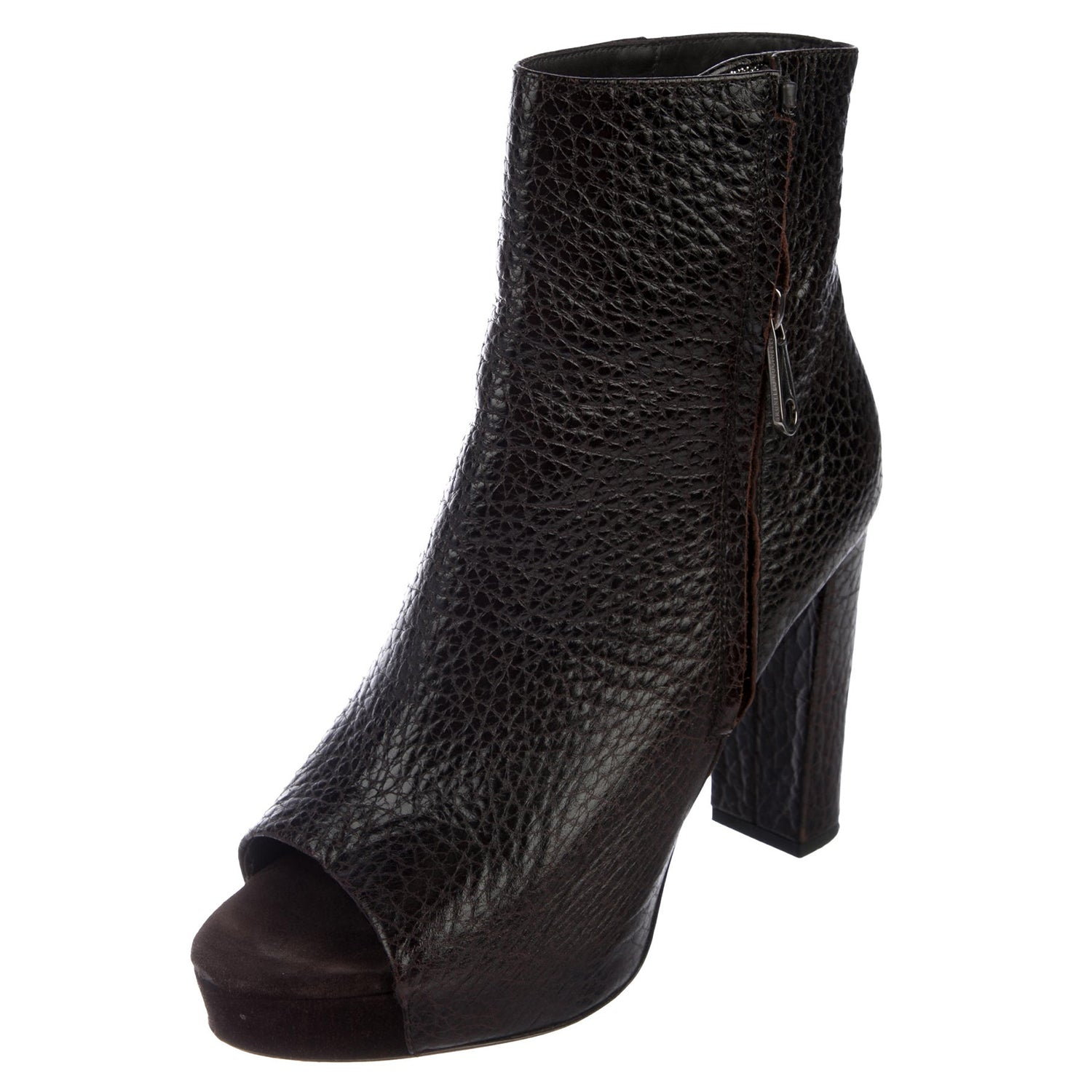 Brunello Cucinelli Leather Ankle Booties