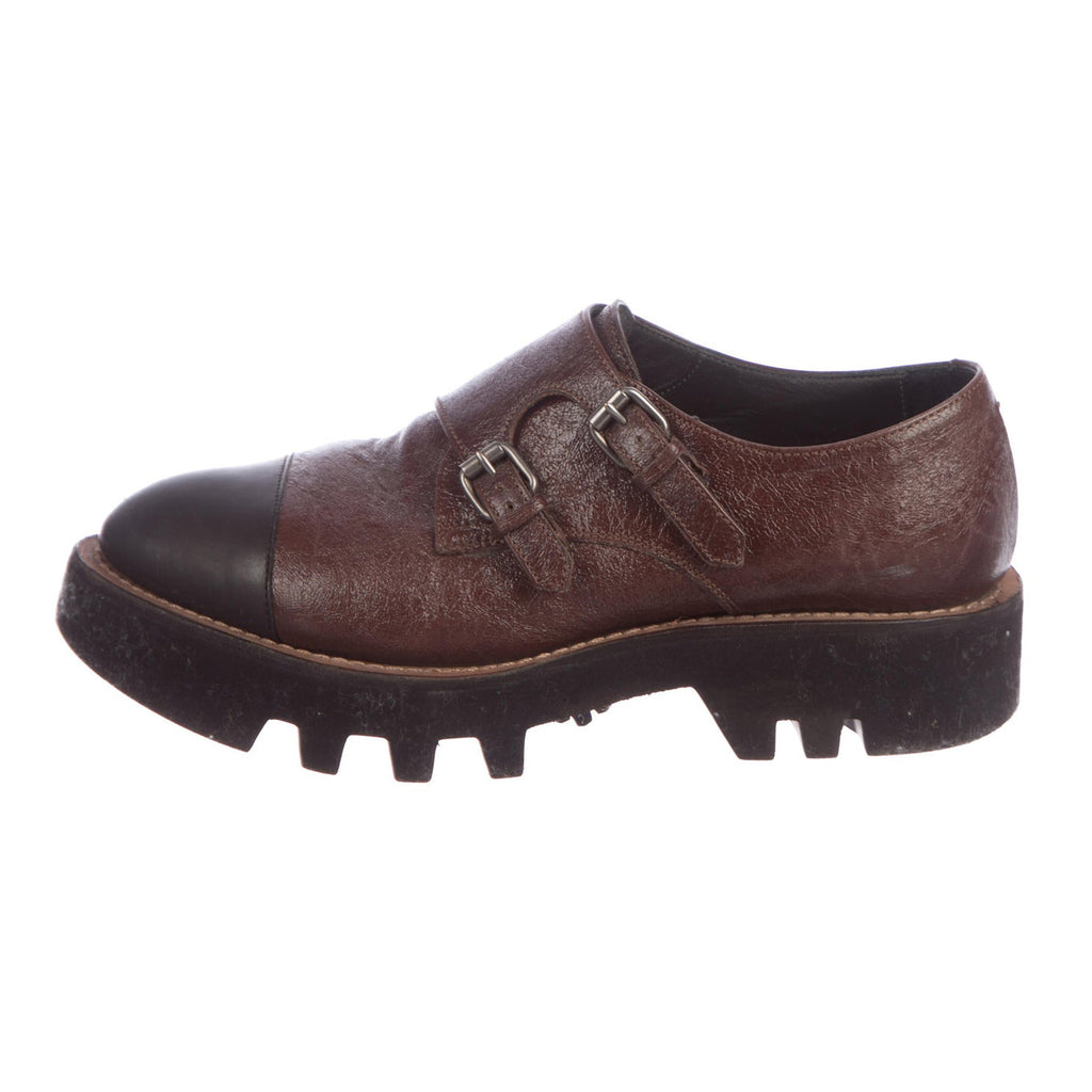Brunello Cucinelli Platform Buckle Oxfords
