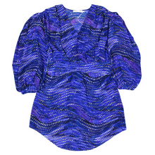 Load image into Gallery viewer, See By Chloé Crepe De Chine Blouse (Blue/Purple)