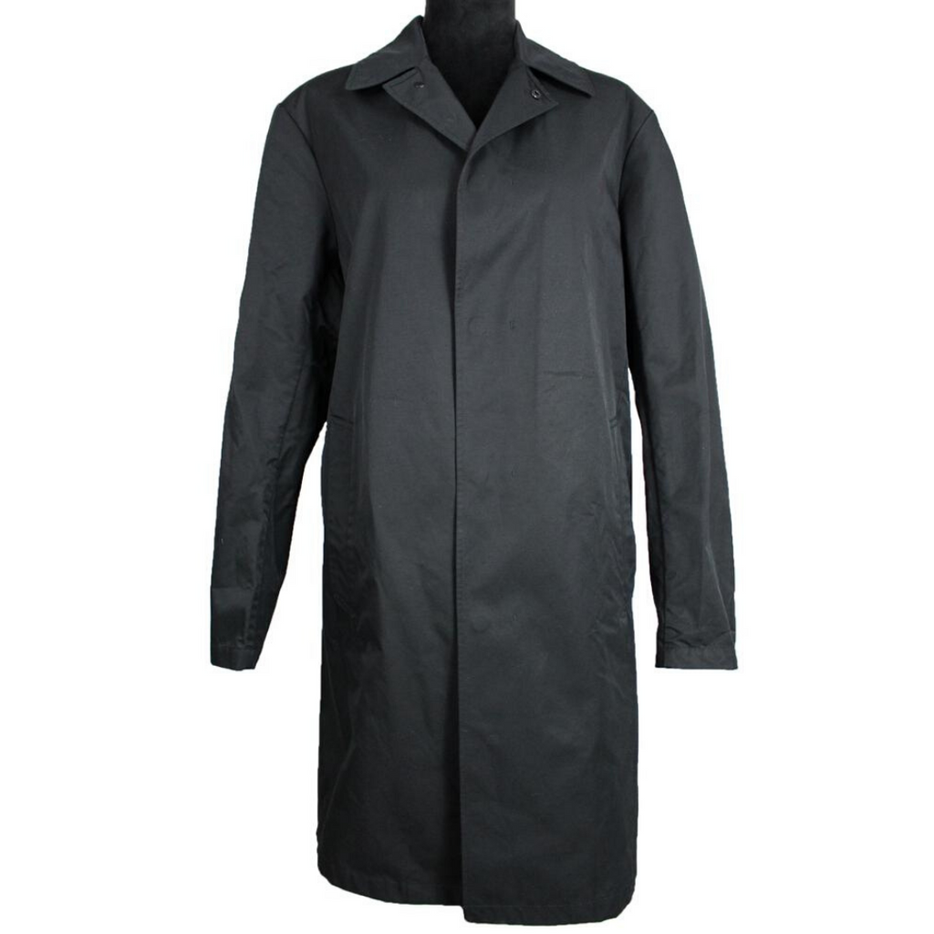 Theory Rain Trench Coat (Black)