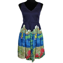 Load image into Gallery viewer, Moulinette Soeurs Handpainted Island Dress (Purple/Multicolor)