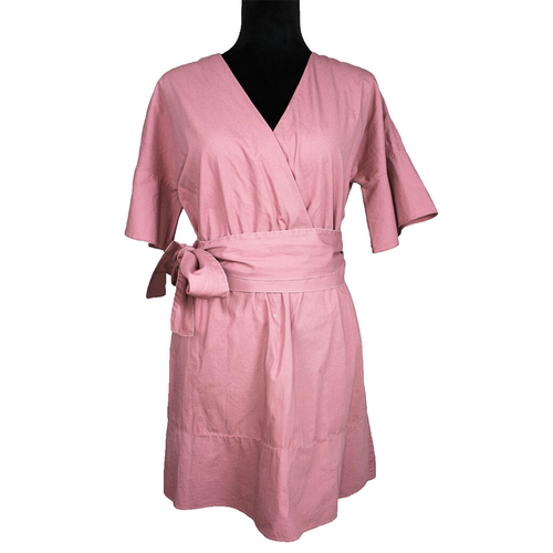 Frye Dusty Pink Belted Dress (Pink)