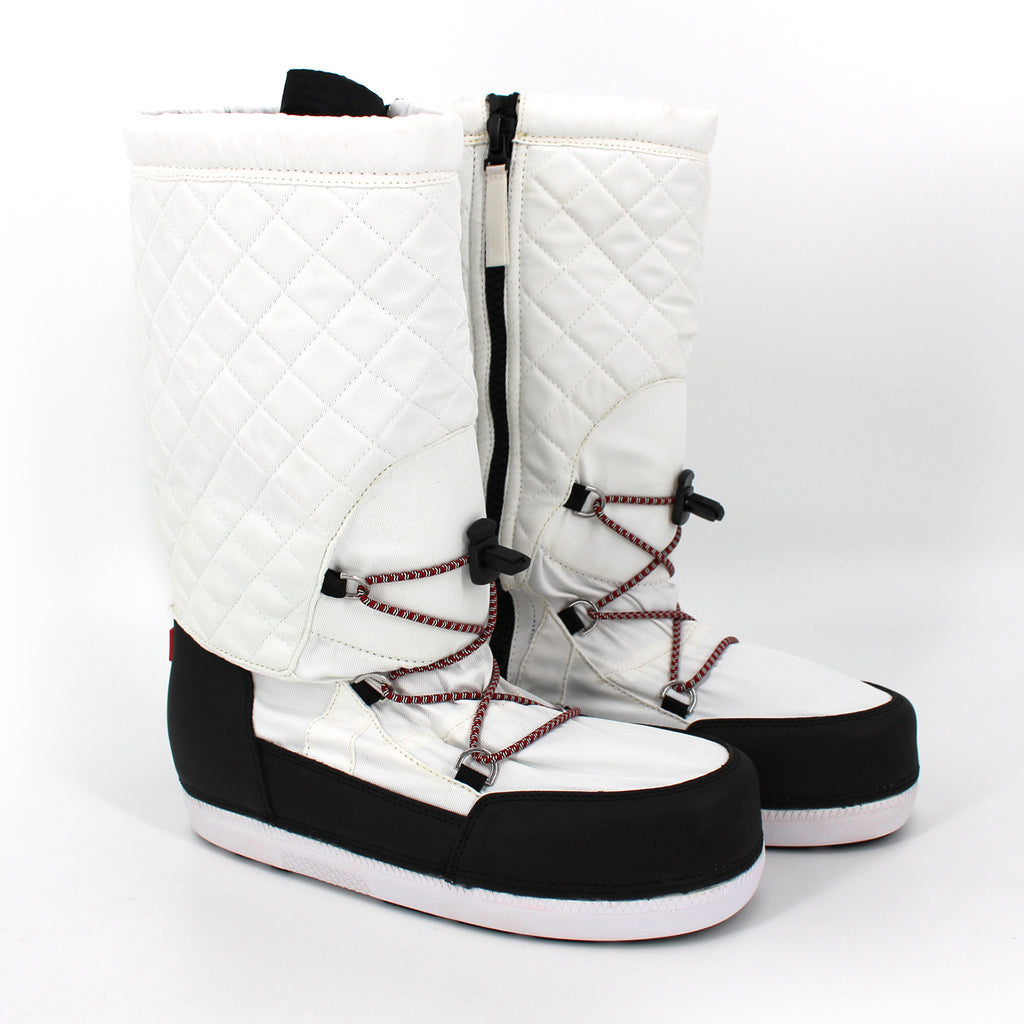 NEW HUNTER White Original Snow Quilted Boots