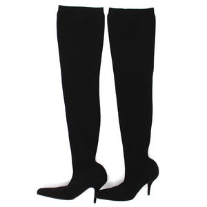 Balenciaga Over The Knee Socks Boots