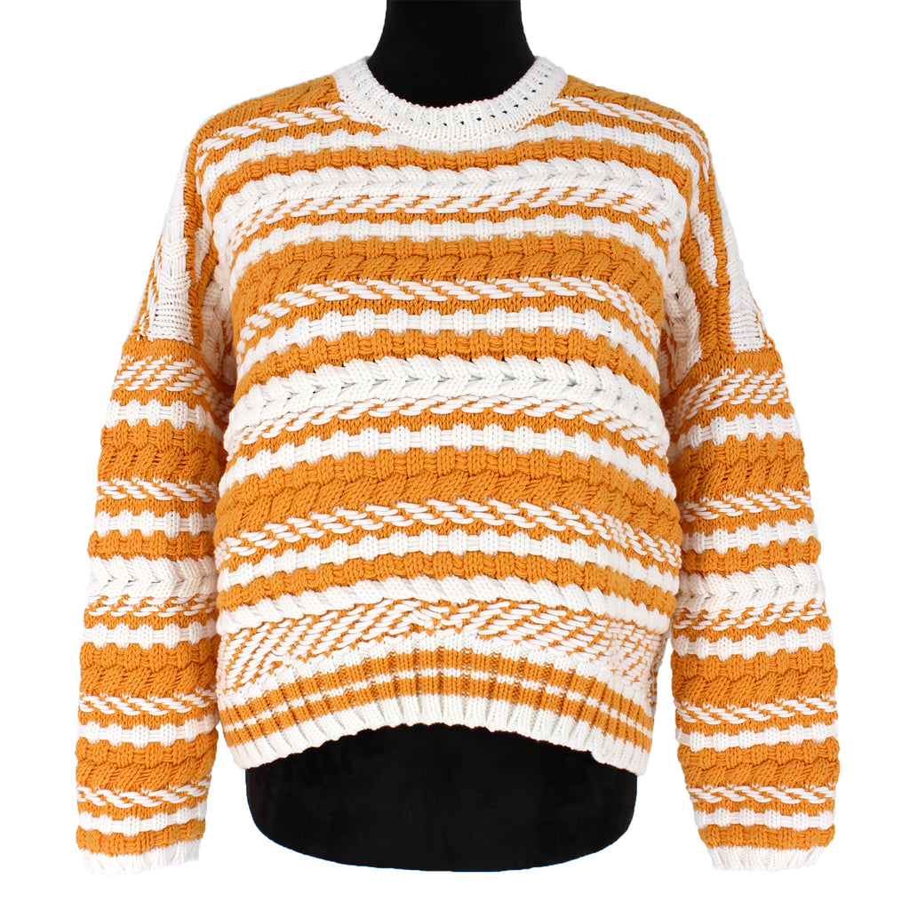 Maje Chunky Stripe Sweater