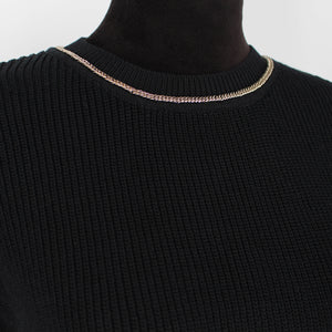 Maje Gold Chain Sweater