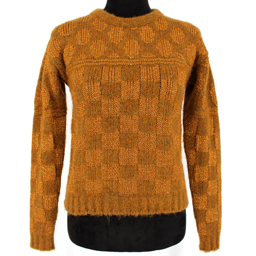 NWT Roberto Collina Checkered Wool Sweater S