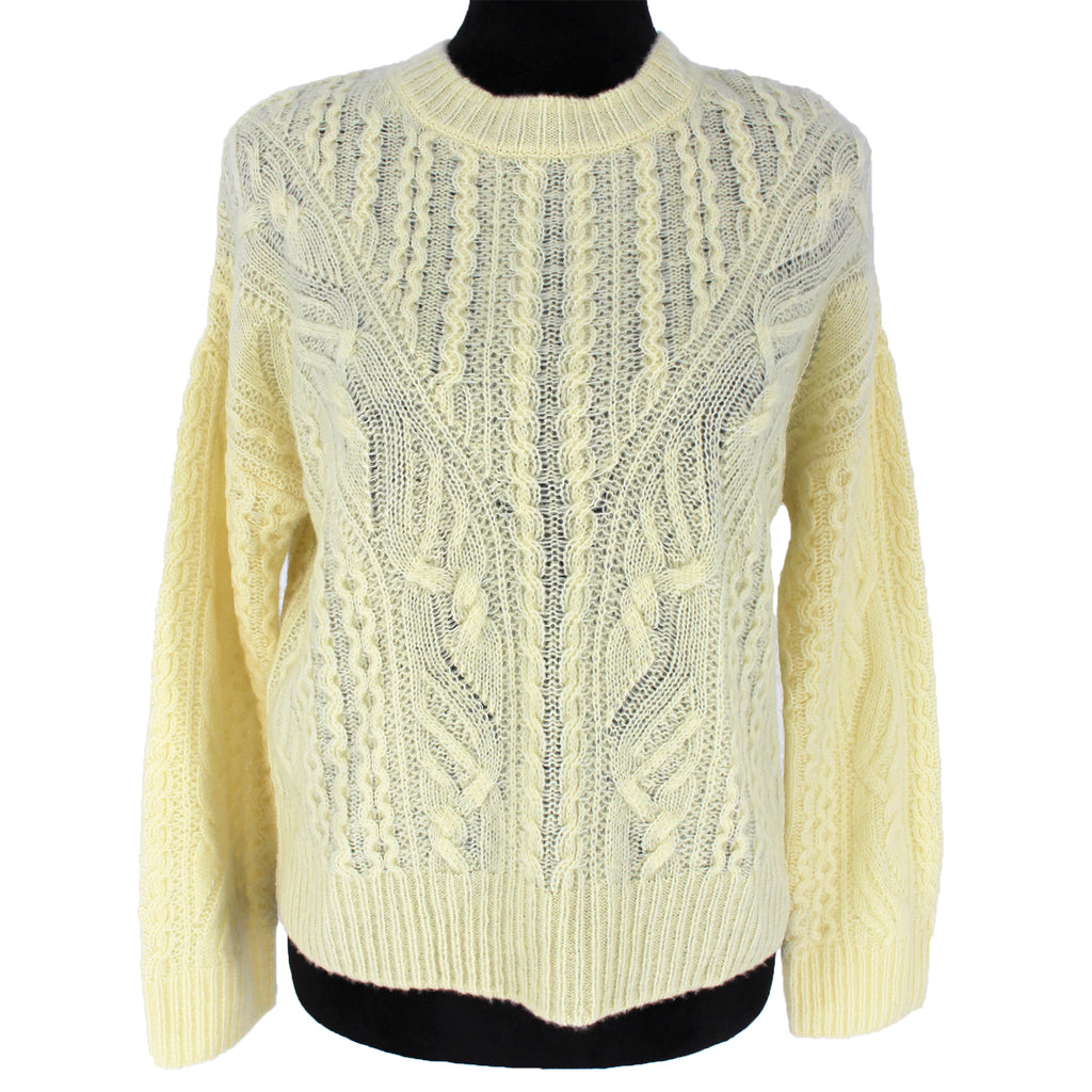 Vince Cashmere Cableknit Sweater