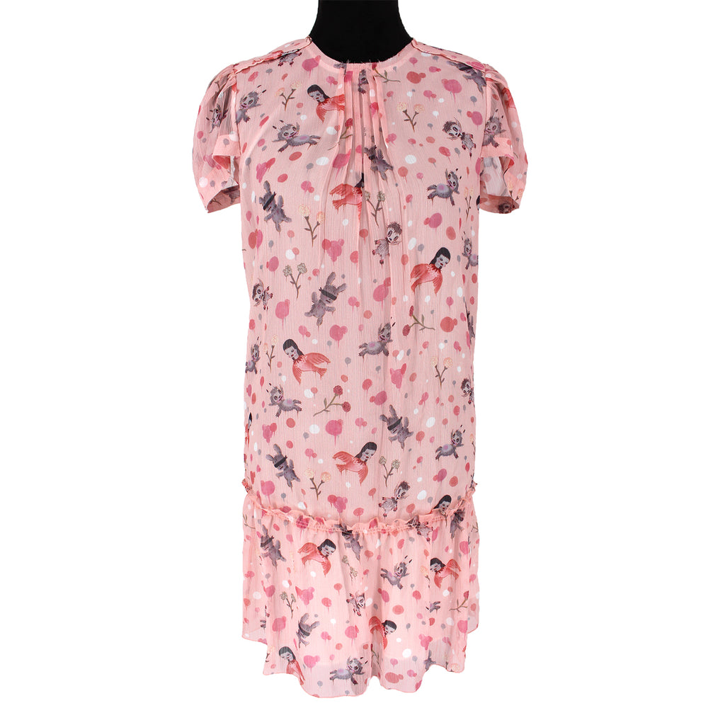 Coach Baseman Round Neck Dress