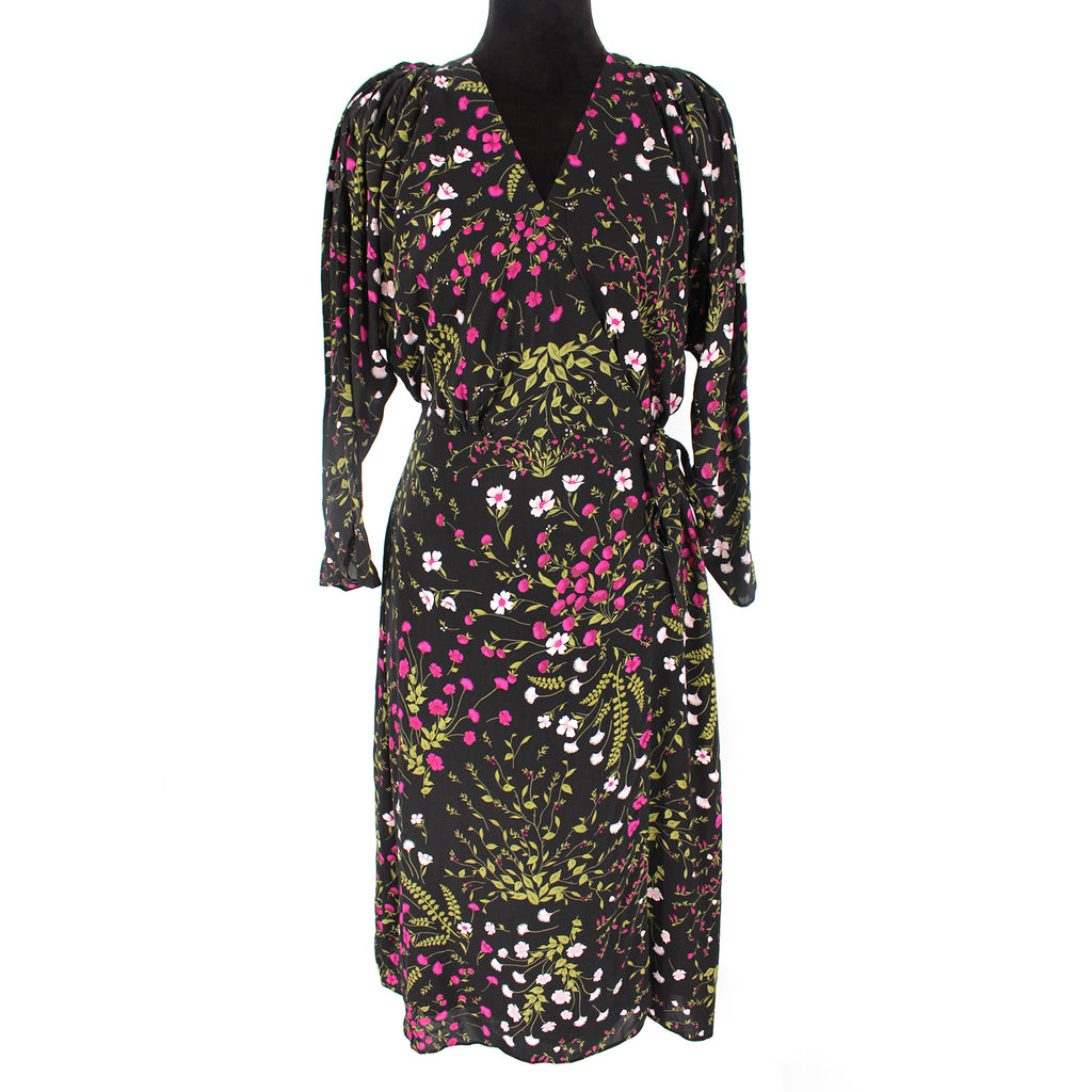 Joie Acantha Floral Wrap Dress