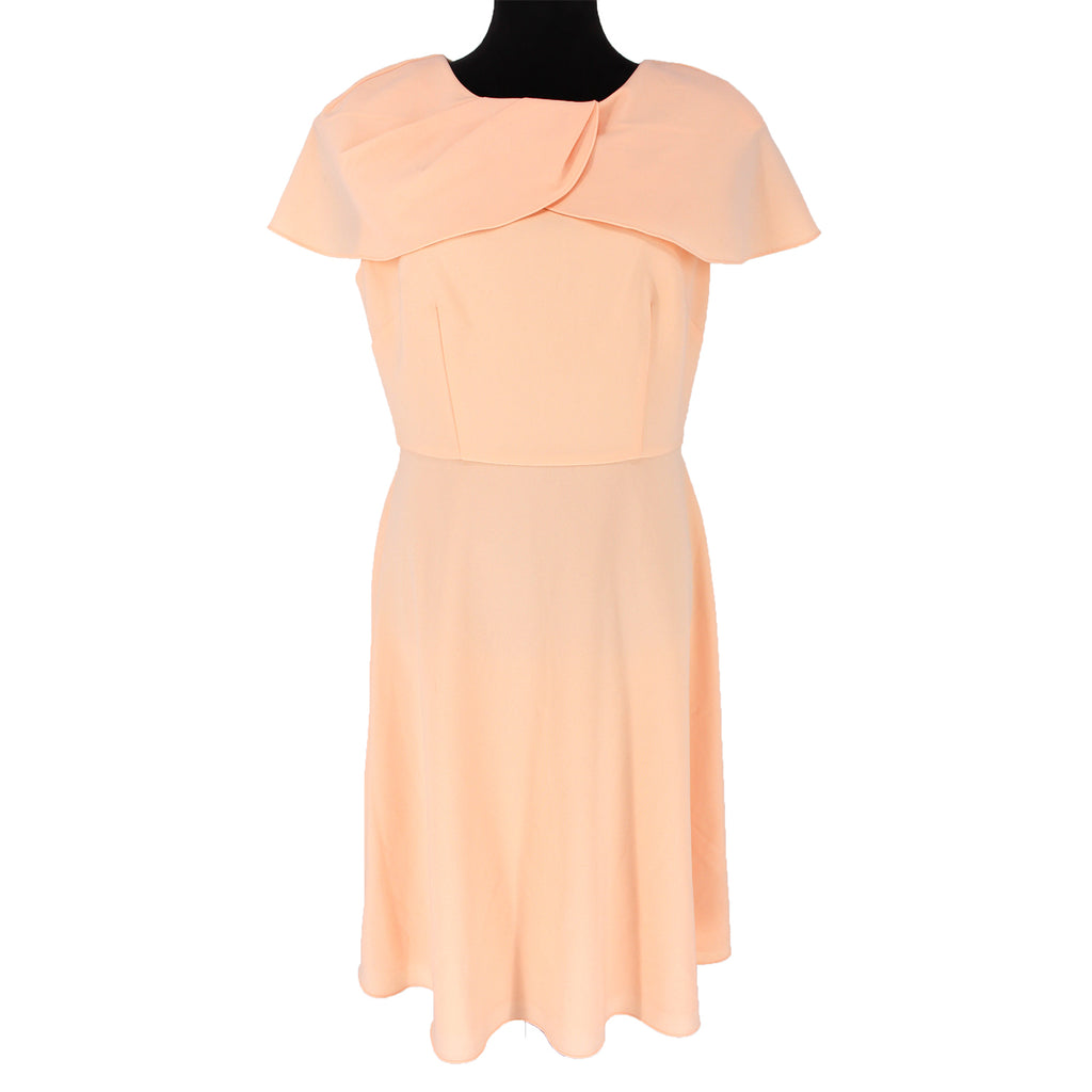 St. John Petal Collar Dress