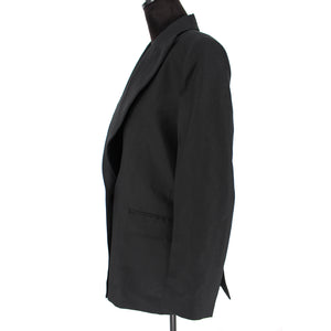SANDRO Tailored Crepe Blazer