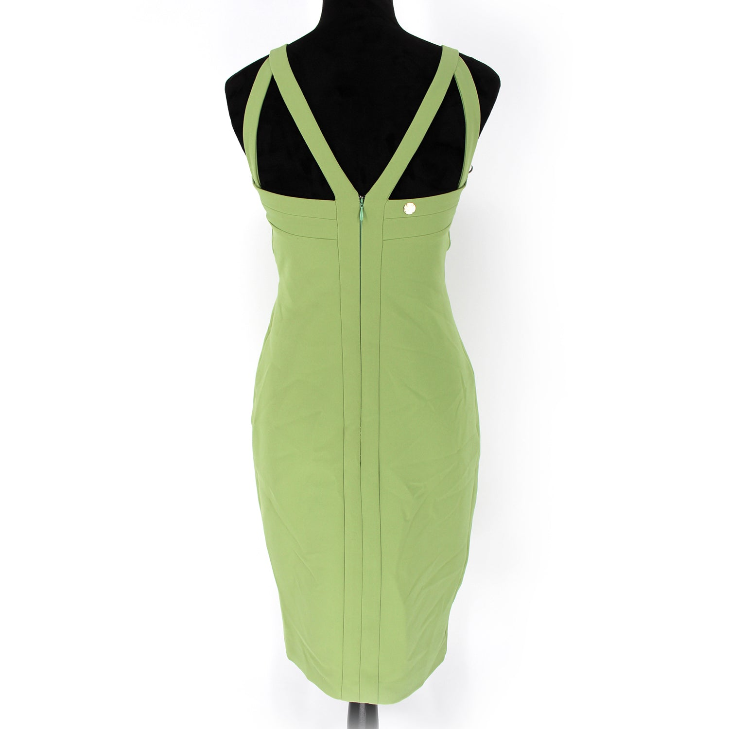 Versace Collection Sage Tassel Dress