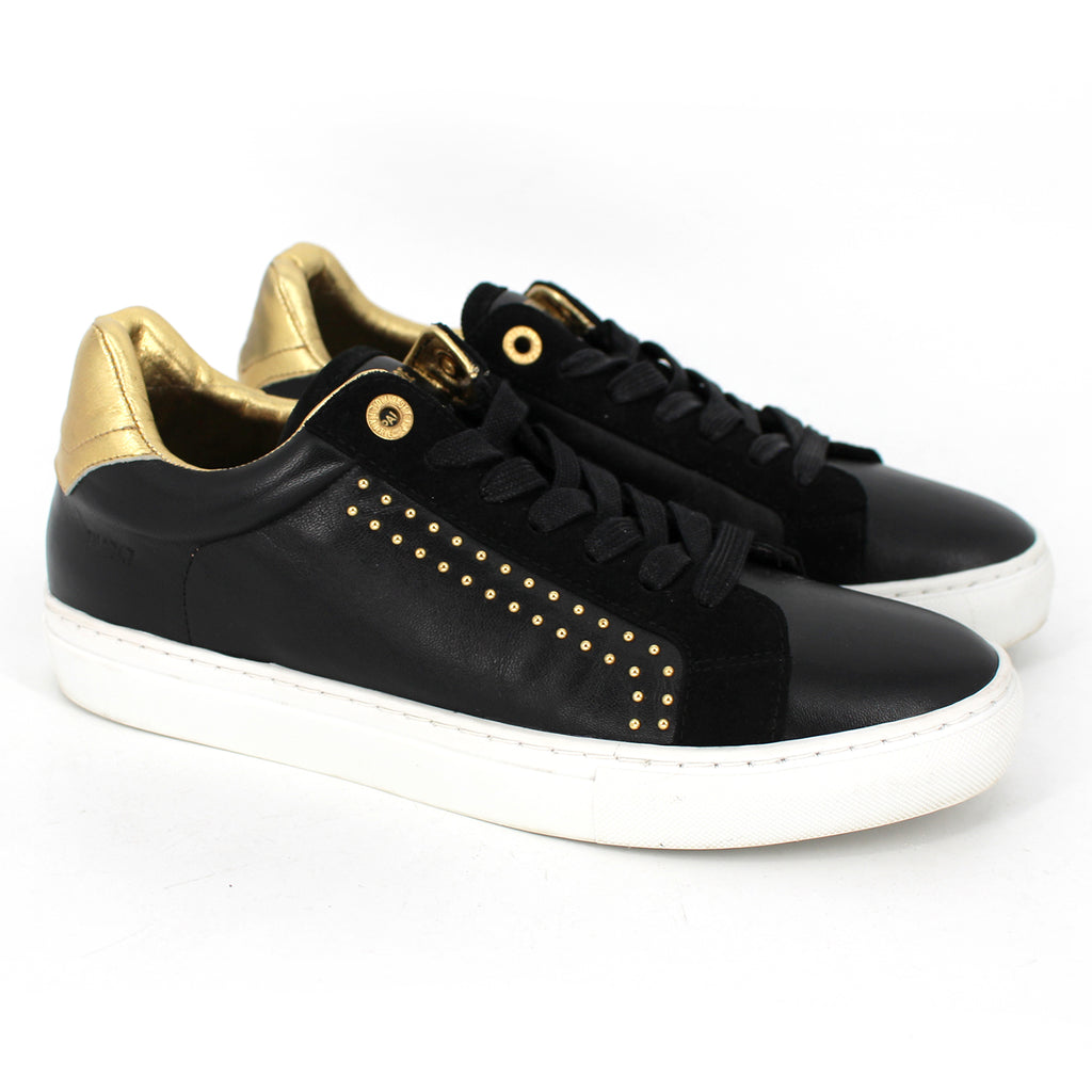 Zadig & Voltaire Studded Leather Sneakers