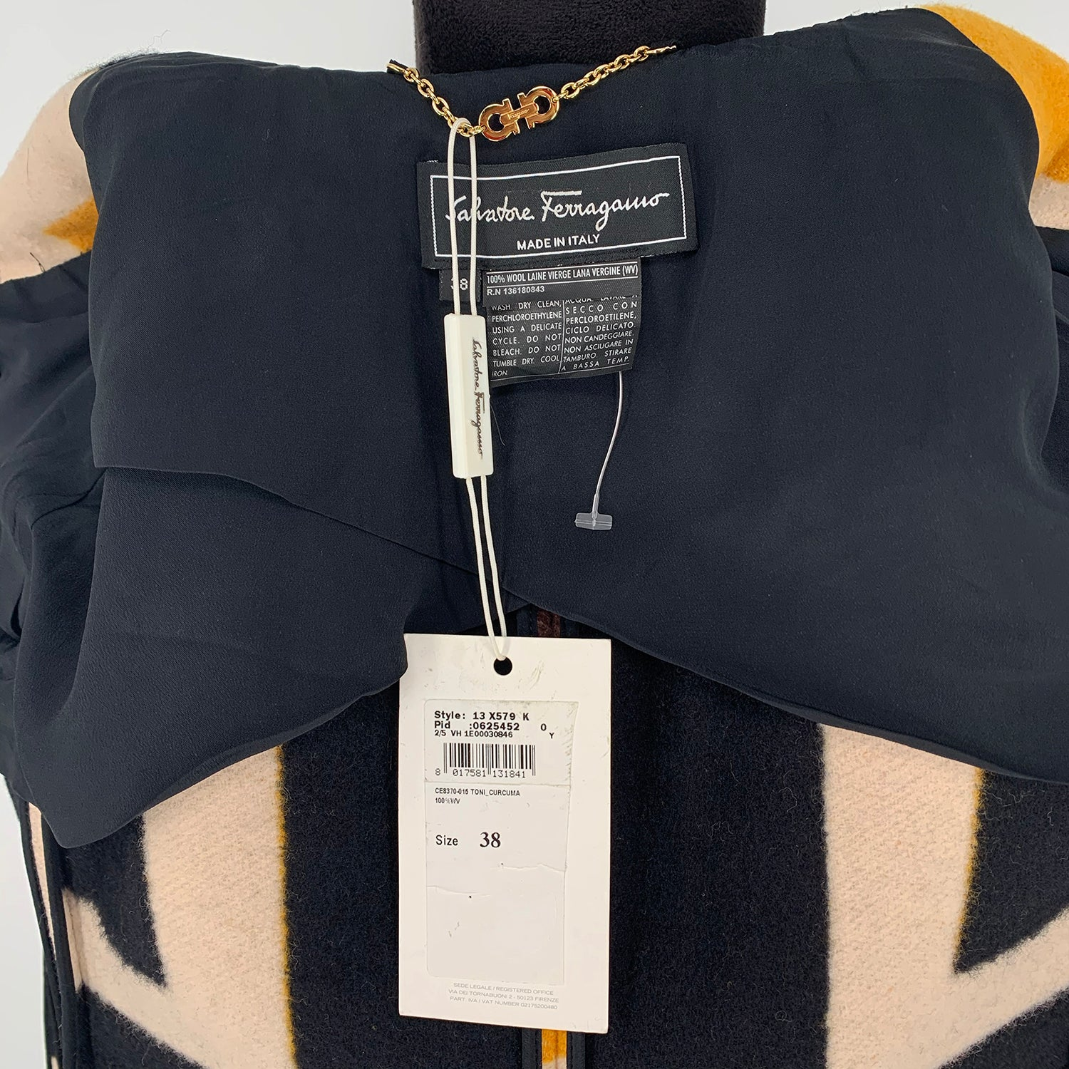 Salvatore Ferragamo Wool Coat