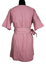 Load image into Gallery viewer, Dusty Pink Belted Dress