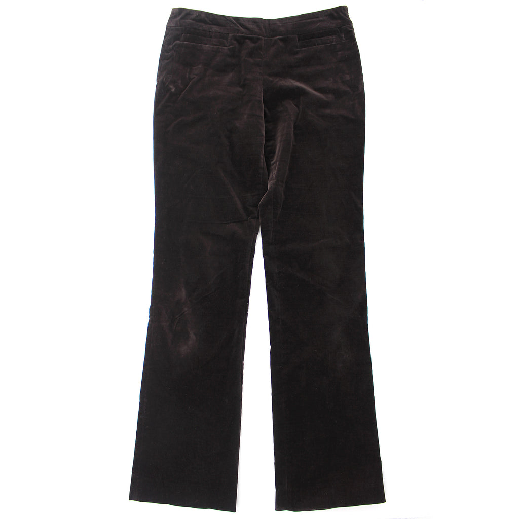 Gucci Bootcut Brown Velvet Pants