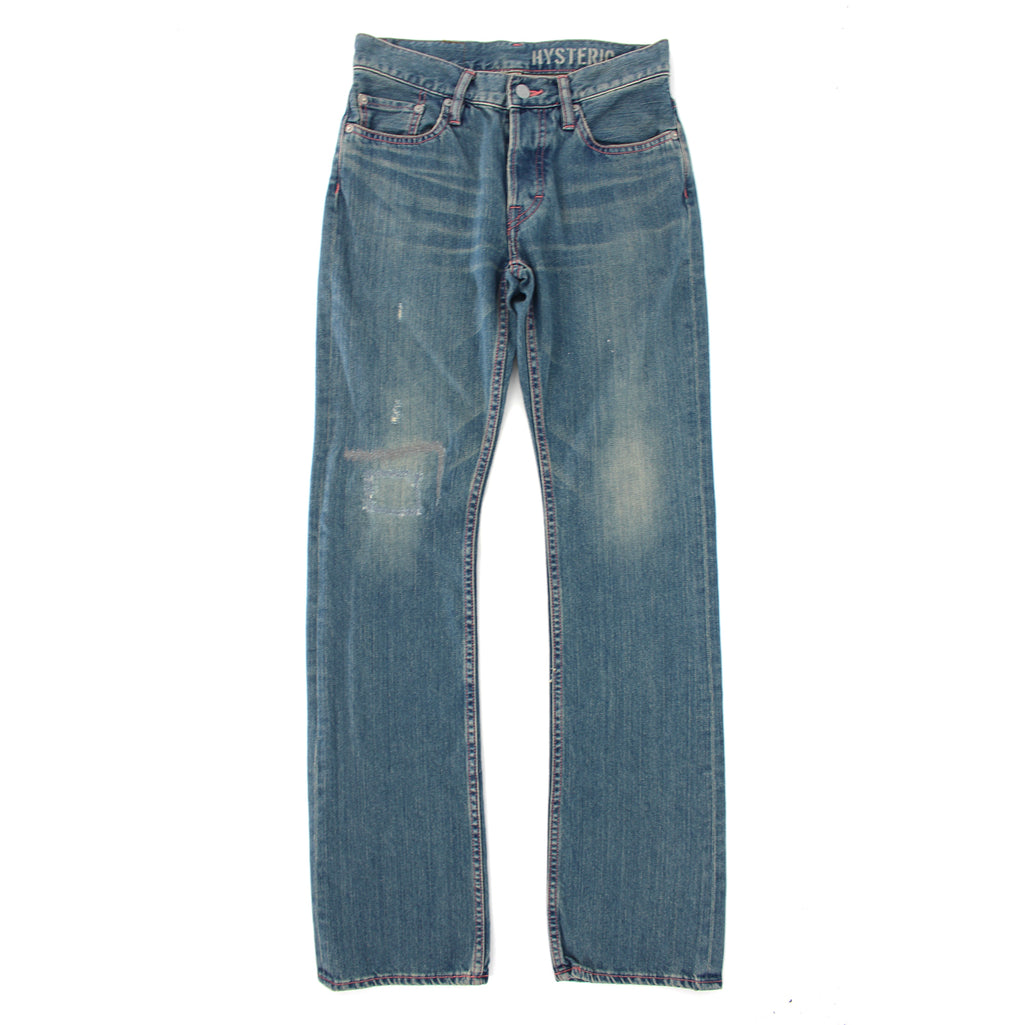 Hysteric Distressed Straight Jeans