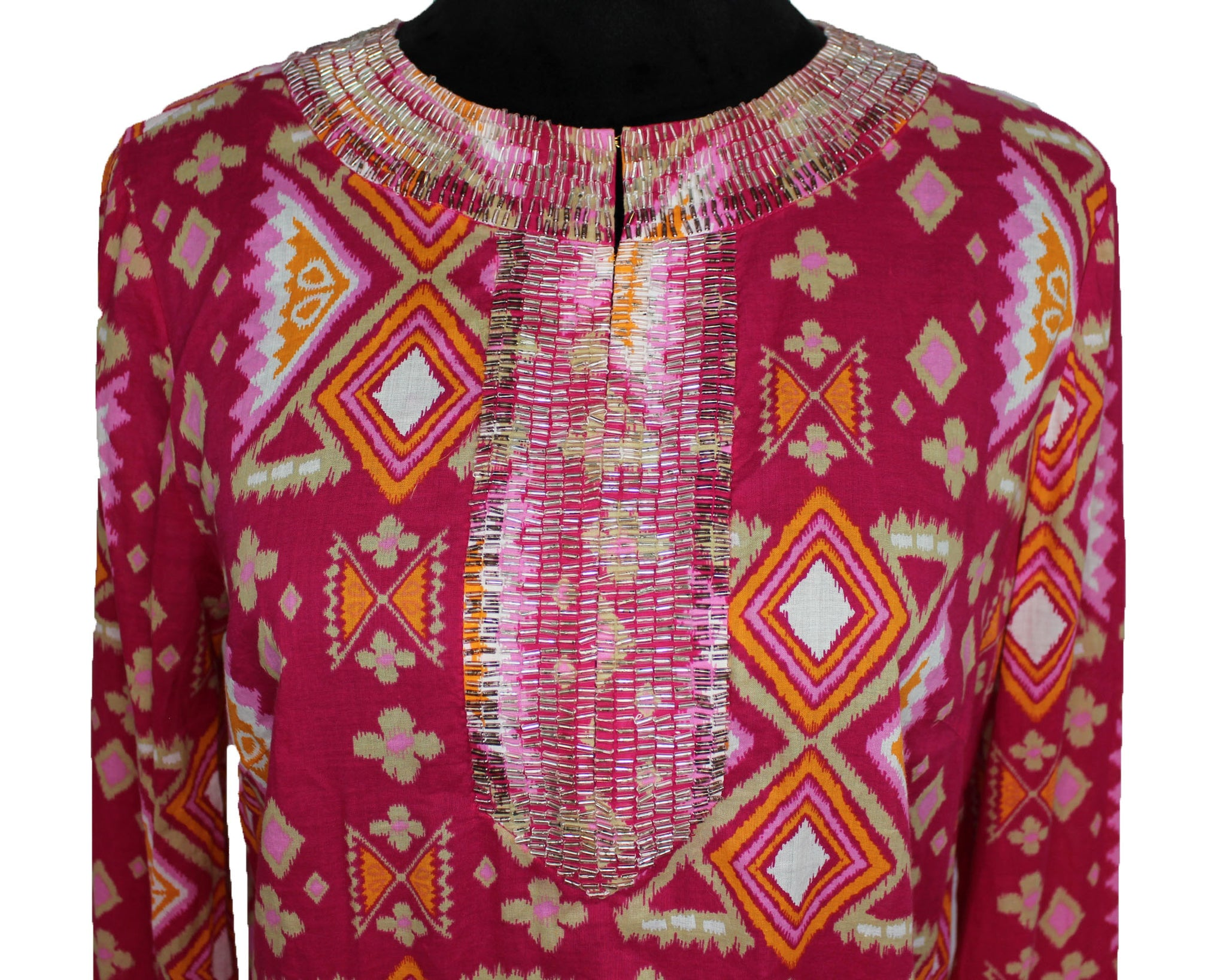 Tory Burch Embellished Cover Up Dress