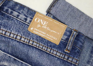 One Teaspoon Baggies Distressed Jeans