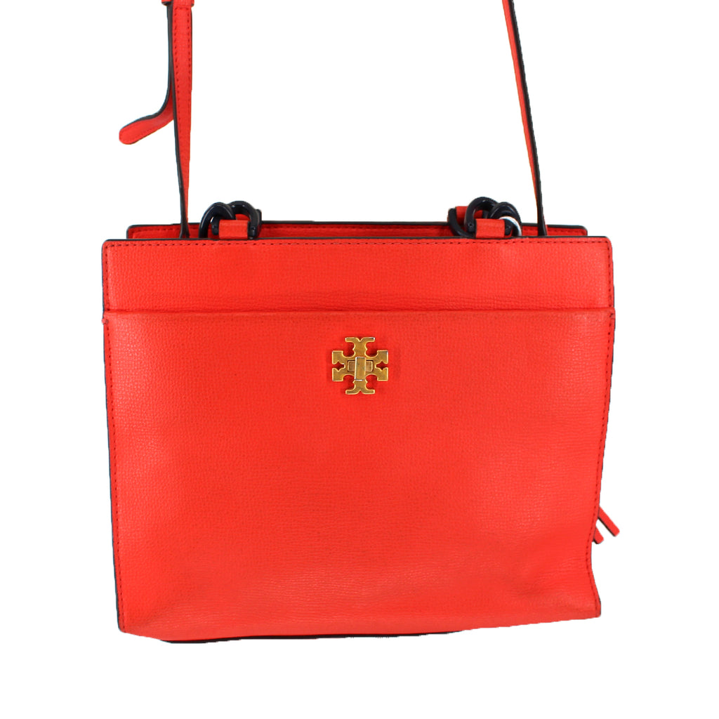 Tory Burch Red Kira Small Tote