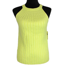 Load image into Gallery viewer, Anthropologie Yellow Ribbed Sweater Tank