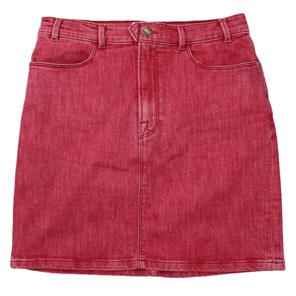 Frame Denim Le Color Pencil Skirt (Red/Pink)