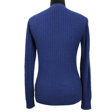 Load image into Gallery viewer, Cable-Knit Crewneck Sweater