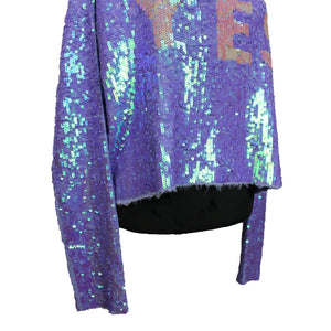 "Celebration Billie Sequin ""YES"" Hoodie"