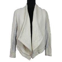 Load image into Gallery viewer, Quilted Open Front Cardigan Jacket