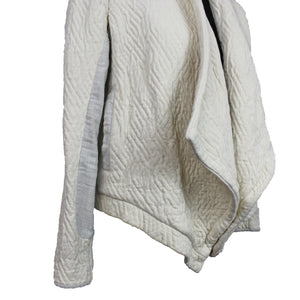 Ulla Johnson Quilted Open Front Cardigan
