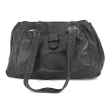 Load image into Gallery viewer, Textured Leather Bag w/ Front Pocket