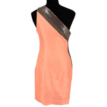 Load image into Gallery viewer, One Shoulder Metal Embellished Dress