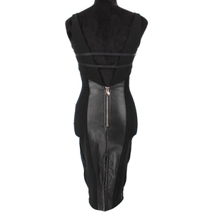 Couture Spike Bodycon Dress