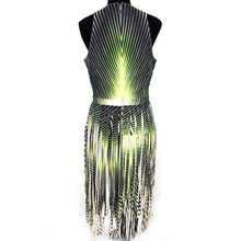 Load image into Gallery viewer, Lambskin Fringe Dress