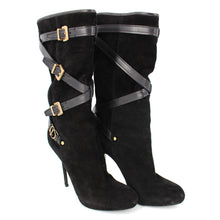 Load image into Gallery viewer, Cavalier Low Suede Buckle Boots