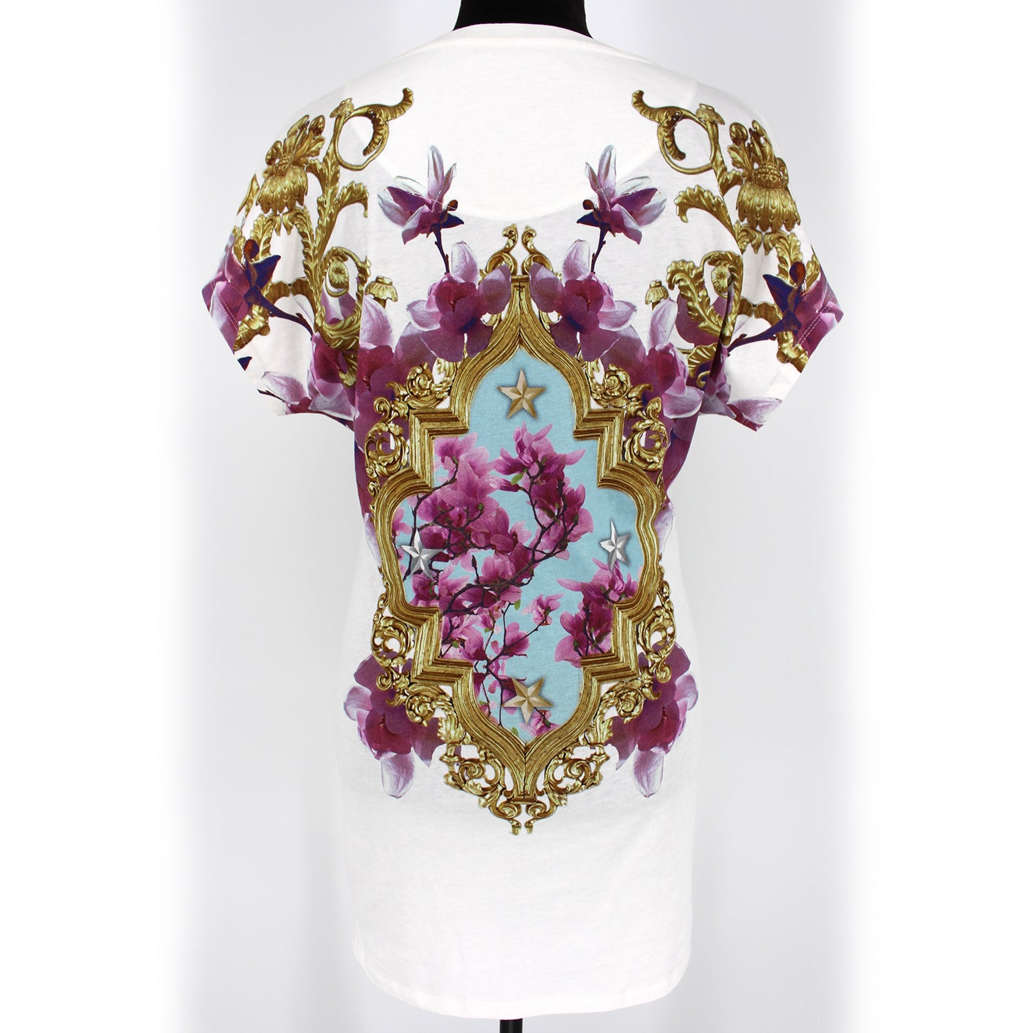 Phillip Plein Embellished Holy Chic Cat Dress