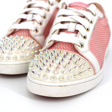 Load image into Gallery viewer, Goldolita Spikes Net Sneakers