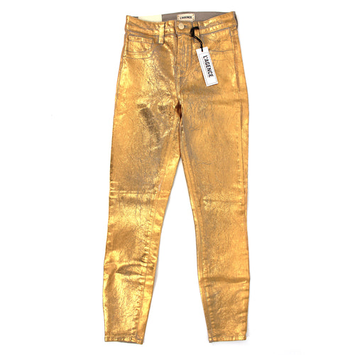Margot High Rise Crackle Jeans