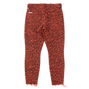 Mother The Looker Leopard Jeans