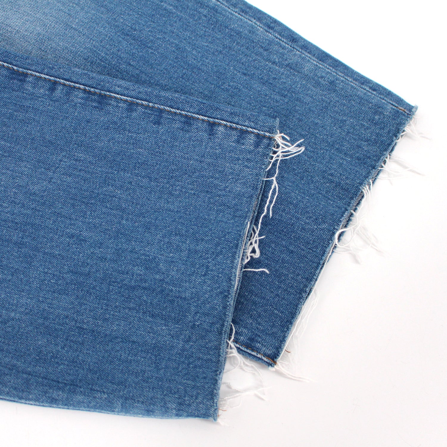 Madewell High-Rise Raw Hem Jeans